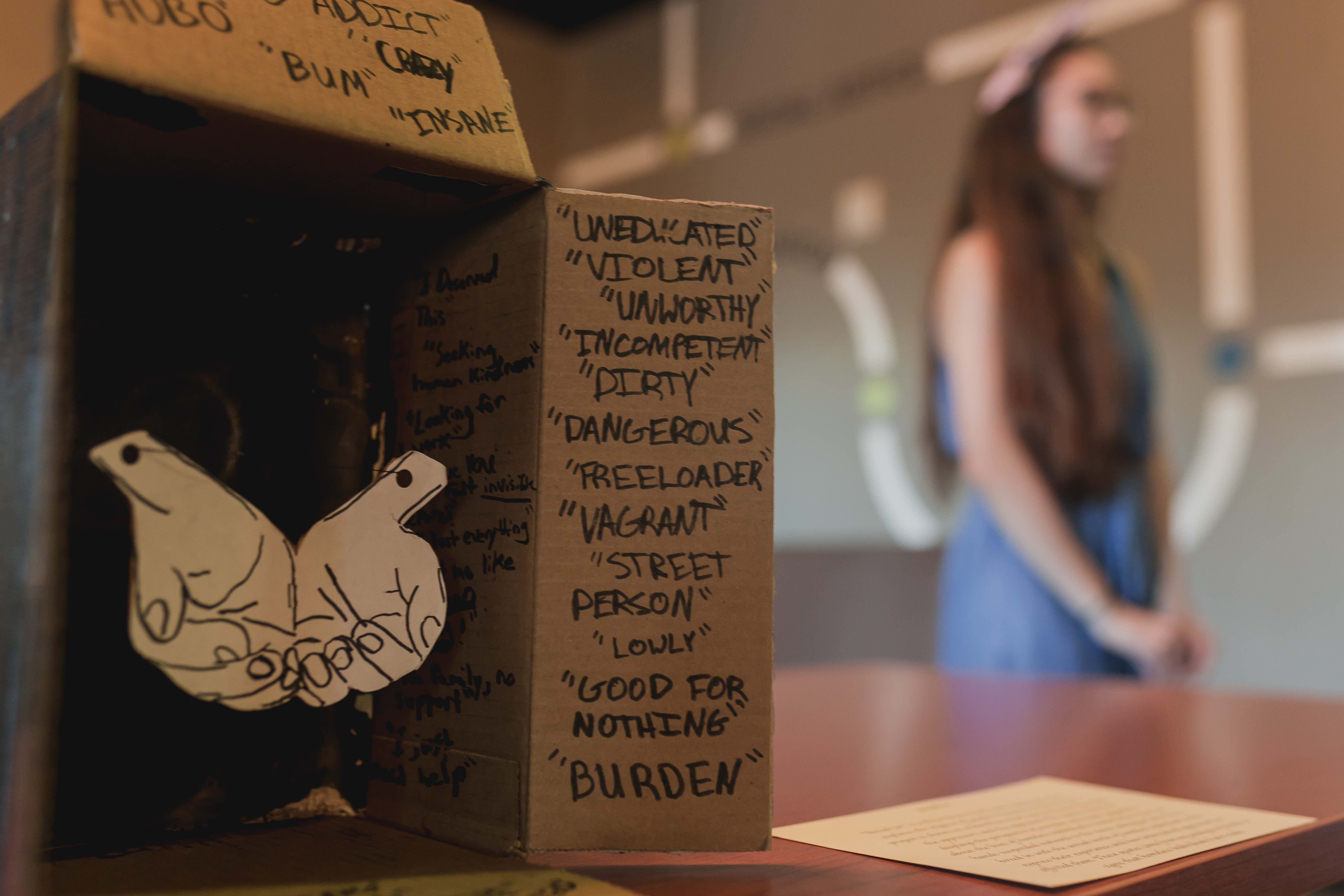 Students present creative discussion of social justice issues