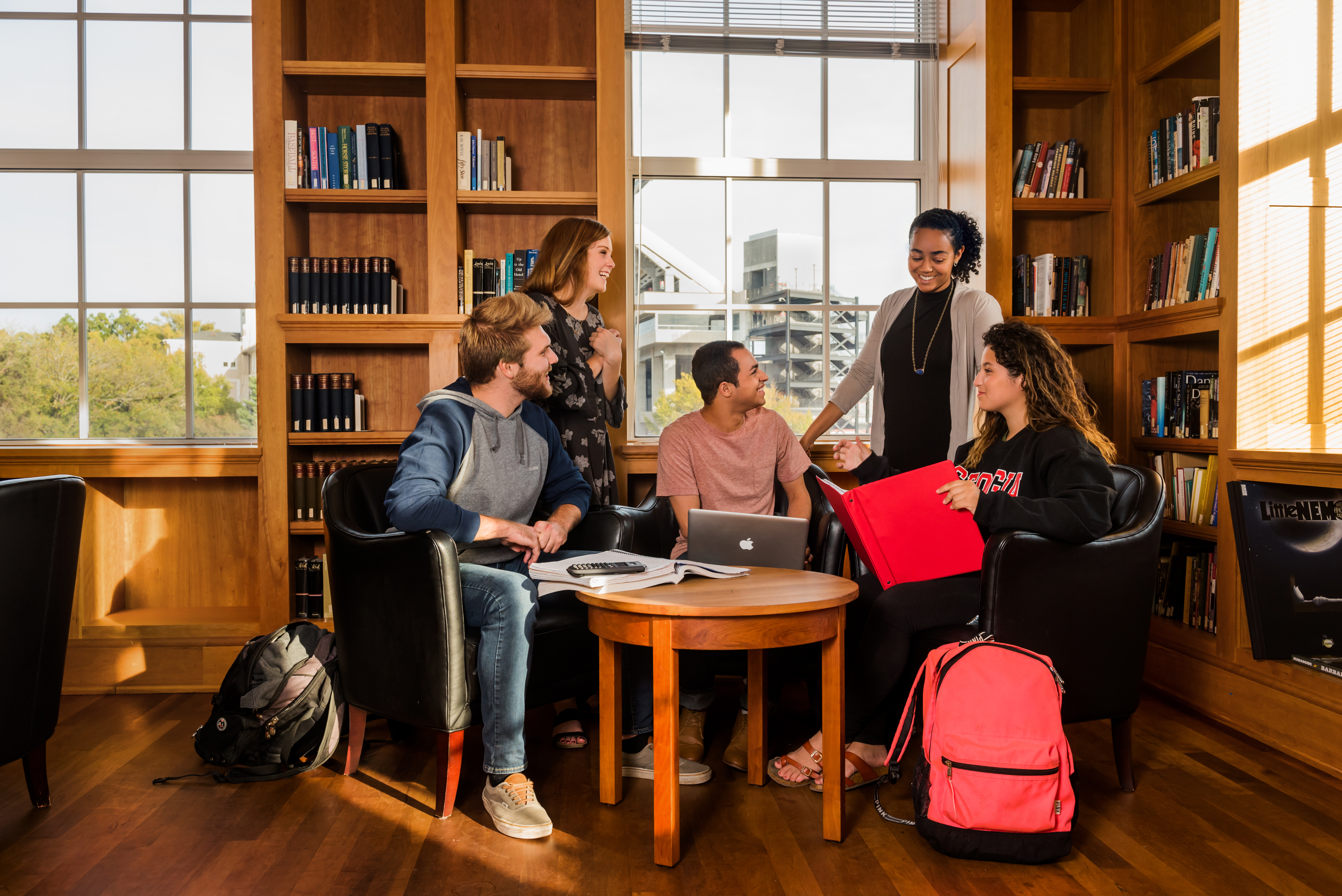 Students Reading Room